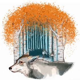 Wolfsrudel Illustration